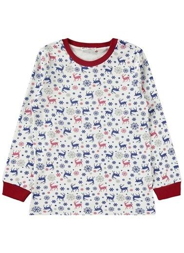 Civil Boys Erkek Çocuk Pijama Takımı Bordo